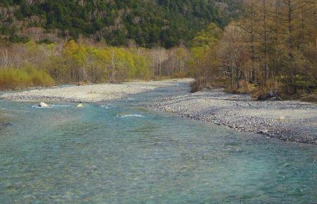 【旅行】岐阜県旅行レポその1:上高地・河童橋〜明神池